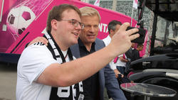 Neuerdings Teil der Hall of Fame des deutschen Fußballs: Oliver Kahn