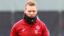 Julian Nagelsmann wird den FC Bayern vorerst nicht an der Seitenlinie coachen können