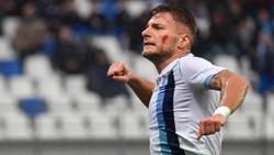 Lazio-Stürmer Ciro Immobile hat einen Lauf
