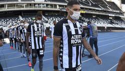 In Brasilien wird derzeit noch gespielt - unter Protest der Spieler