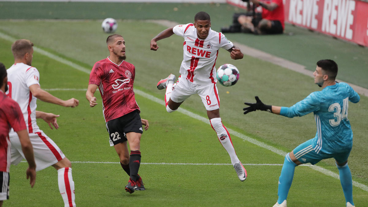 Der 1. FC Köln gewann mit 5:0 gegen den Landesligisten