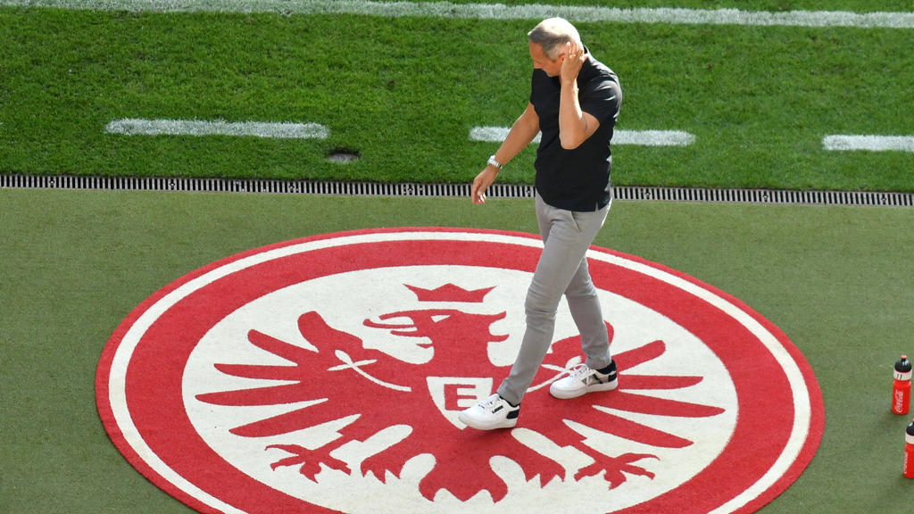 Hütter erwartet eine Steigerung von seiner Mannschaft