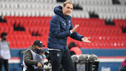 Thomas Tuchel an der Seitenlinie bei Paris Saint-Germain