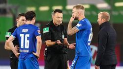 Die Hoffenheimer Rudy und Vogt wollen gegen den VfB Stuttgart am Wochenende wieder sportliche Schlagzeilen schreiben