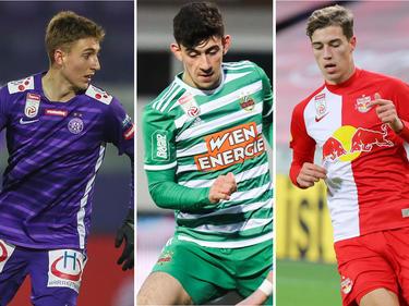 Aleks Jukić, Yusuf Demir und Luka Sučić - drei Talente auf dem Weg nach oben