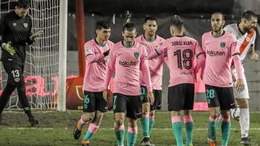 Der FC Barcelona besiegte Rayo Vallecano mit 2:1