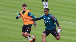 Laufen in der neuen Saison nicht mehr für den FC Bayern auf: Tiago Dantas und Douglas Costa