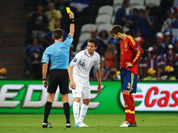 EM 2012: Rizzoli verwarnt Cabaye