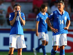 Hängende Köpfe bei der Squadra Azzurra