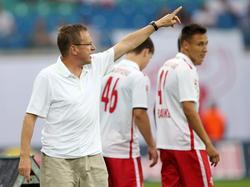 Für Ralf Rangnick und RB Leipzig kann es nur nach oben gehen
