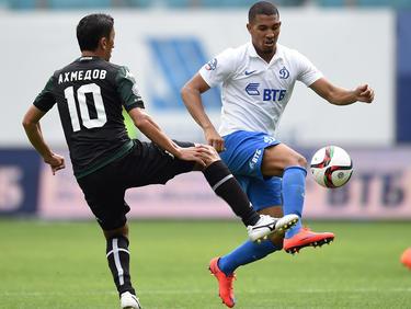 Vainqueur (a la derecha) llegó a Rusia el año pasado y disputó 42 partidos, anotando tres goles. (Foto: Getty)