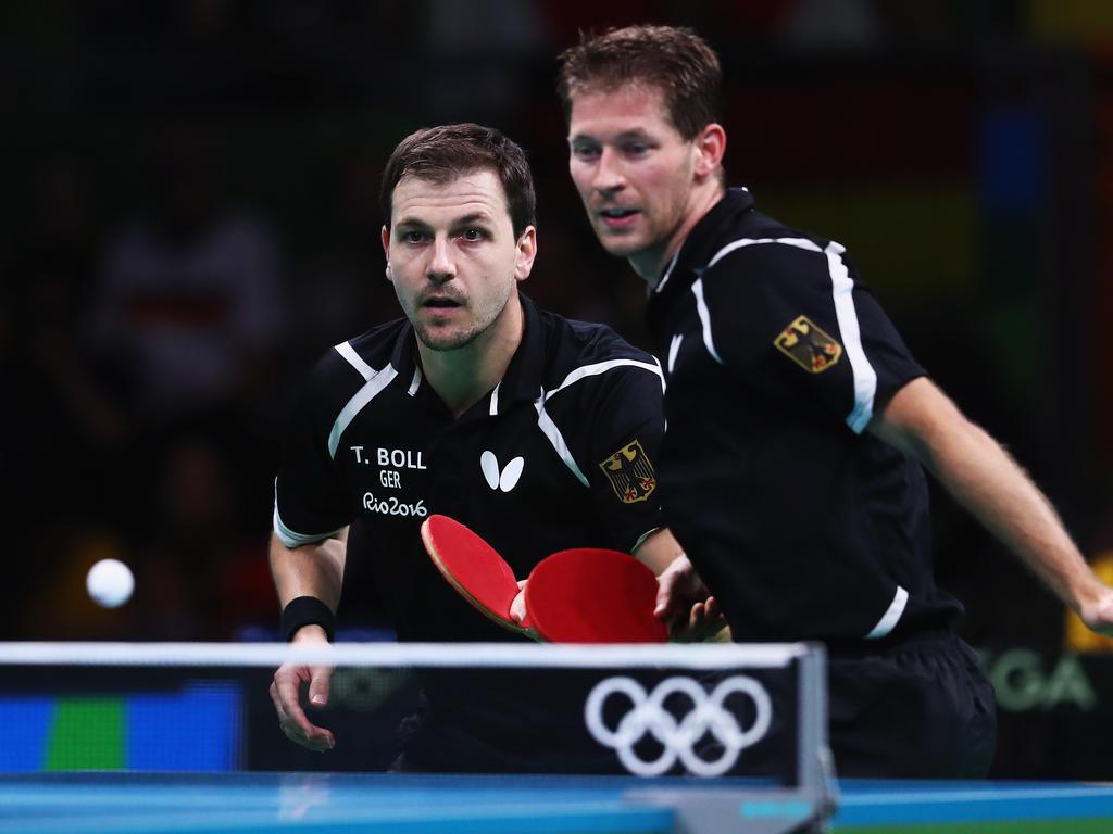 Deutschlands Tischtennis-Herren ziehen in die nächste Runde ein