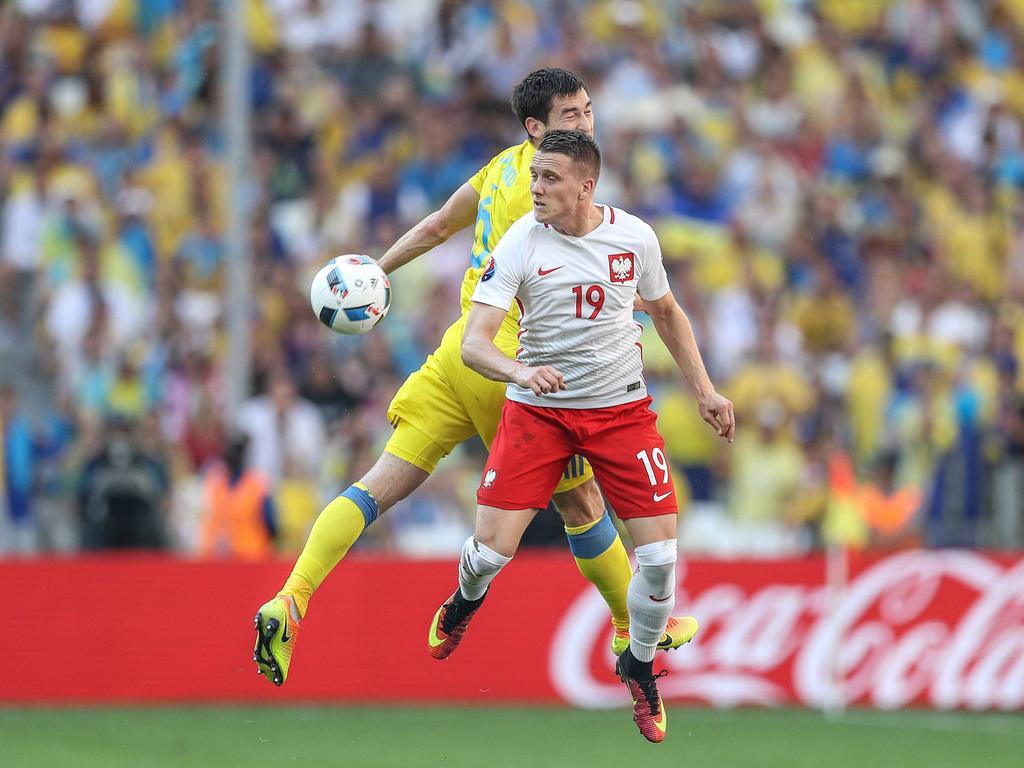 Piotr Zieliński kämpft ab sofort mit dem SSC Napoli um den Ball