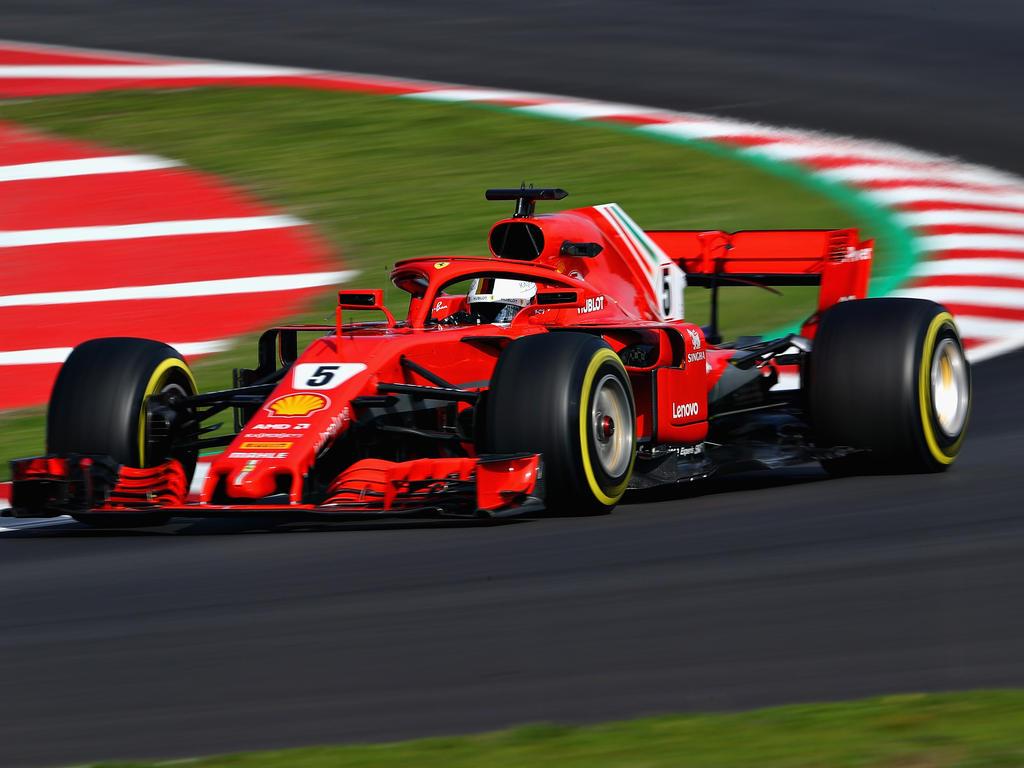Sebastian Vettel startet den nächsten Versuch mit Ferrari