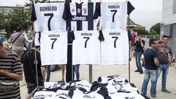Turin befindet sich im Ronaldo-Fieber