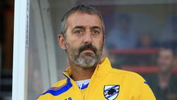 Trainer Marco Giampaolo wollen das Spiel gegen Florenz verlegen