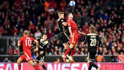 Der FC Bayern und AFC Ajax trennten sich 1:1