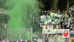 Die Fans des VfL Wolfsburg bescherten ihrem Klub eine DFB-Rechnung