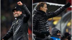 Jürgen Klopp und Thomas Tuchel stehen im Achtelfinale der Champions League