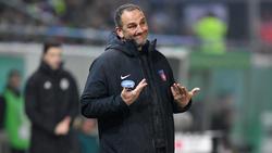 Frank Schmidt kegelte den FC Bayern bereits als Spieler aus dem DFB-Pokal
