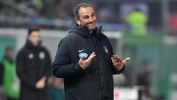 Heidenheims Trainer Frank Schmidt hat Personalprobleme