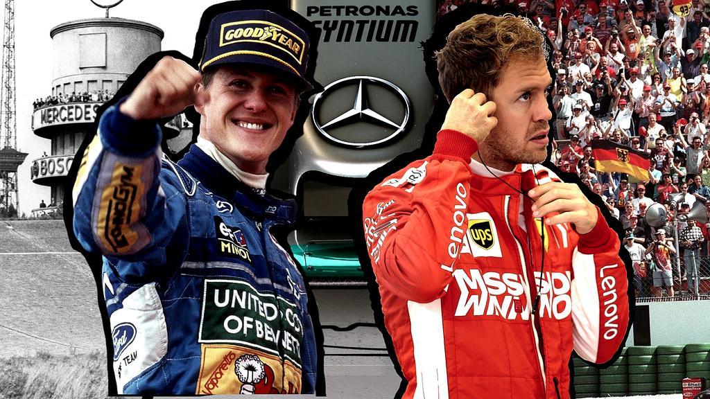 Michael Schumacher und Sebastian Vettel sind die erfolgreichsten deutschen Formel-1-Piloten