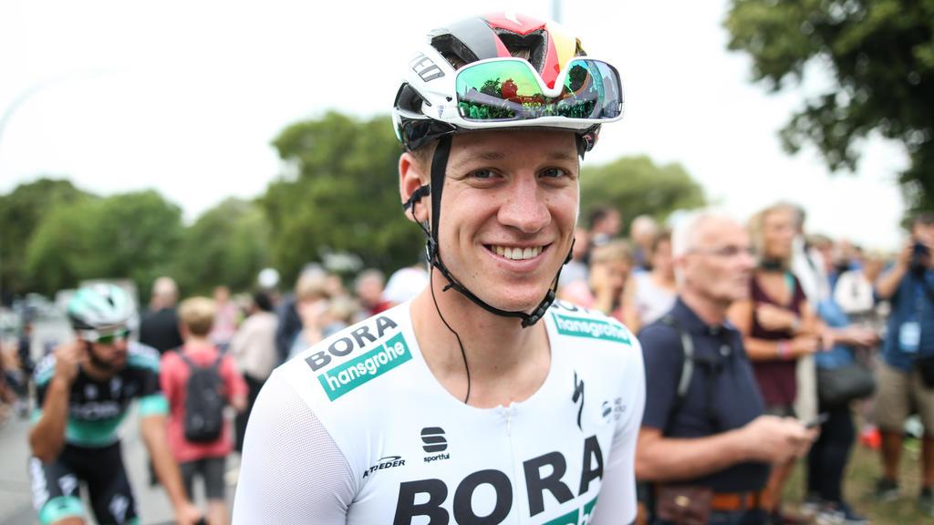 Pascal Ackermann beendet die achte Etappe auf Platz drei