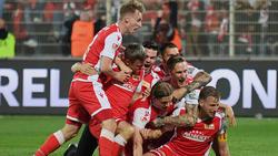 Union Berlin reichte ein torloses Remis zum ersten Aufstieg in die Bundesliga überhaupt