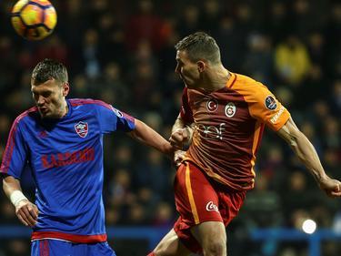 Lukas Podolski musste mit Galatasaray einen Rückschlag im Kampf um die Meisteschaft hinnehmen