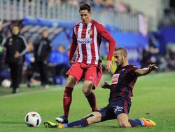 Fernando Torres se clasificó con el Atlético a semifinales de la Copa del Rey. (Foto: Imago)