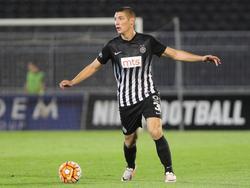 Nikola Milenković erzielte das Goldtor für Partizan