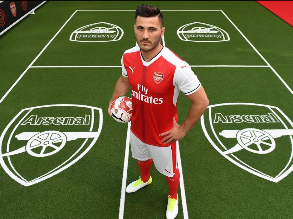 Sead Kolašinac wechselt zum FC Arsenal (Bildquelle: www.arsenal.com)