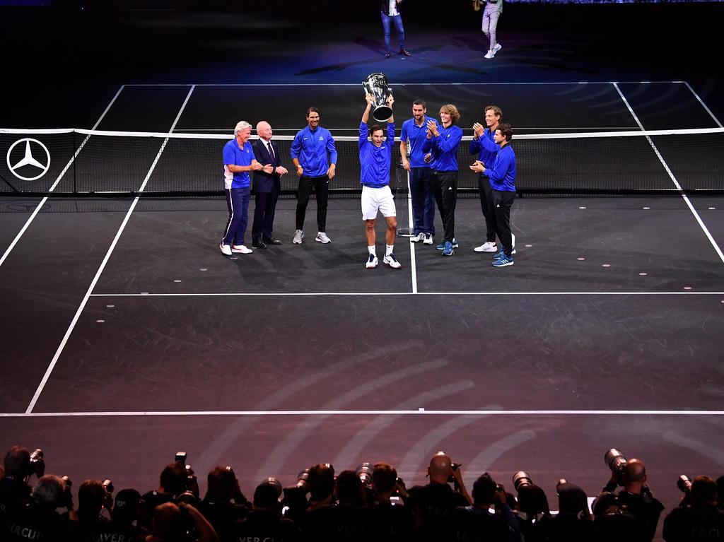 Das Team Europa hat den Laver Cup gewonnen