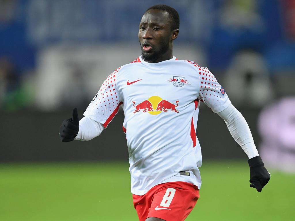 Naby Keita wird in der Rückrunde noch für Leipzig am Ball bleiben