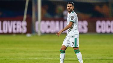 Riyad Mahrez traf per Freistoß in der 95. Minute