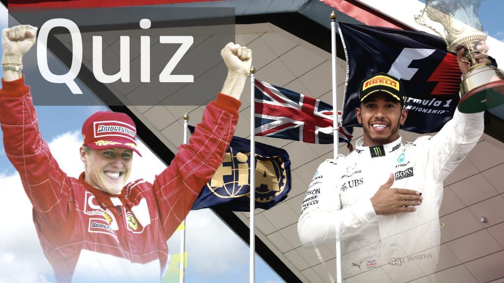Das große Formel-1-Quiz zum GP von Großbritannien