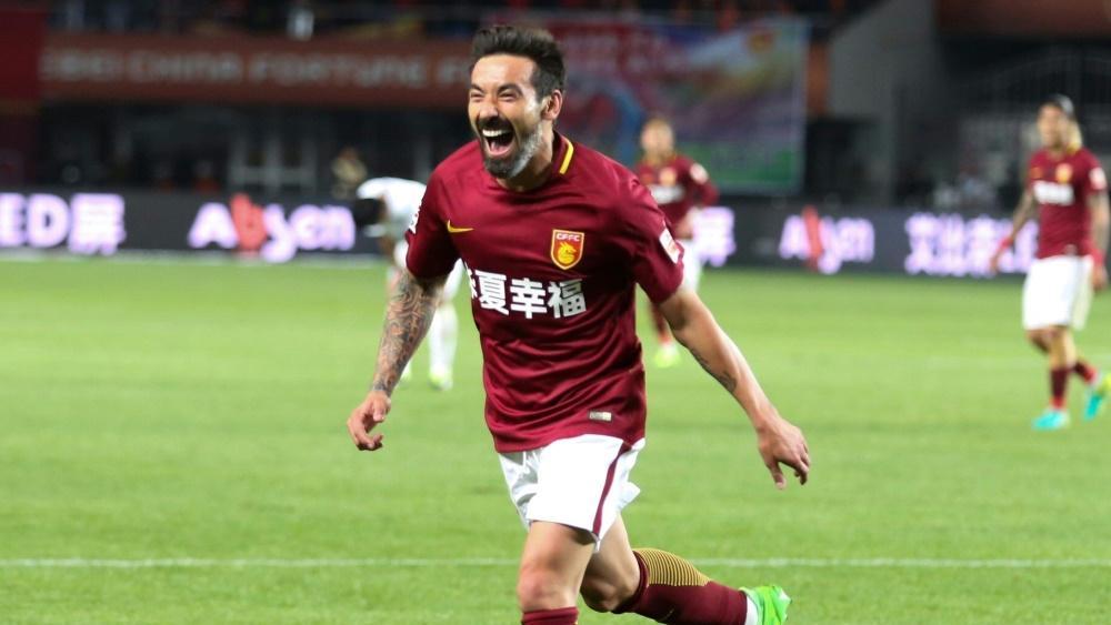Ezequiel Lavezzi spielte bis zuletzt in China