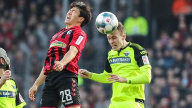Der SC Paderborn holt einen wichtigen Auswärtssieg beim SC Freiburg