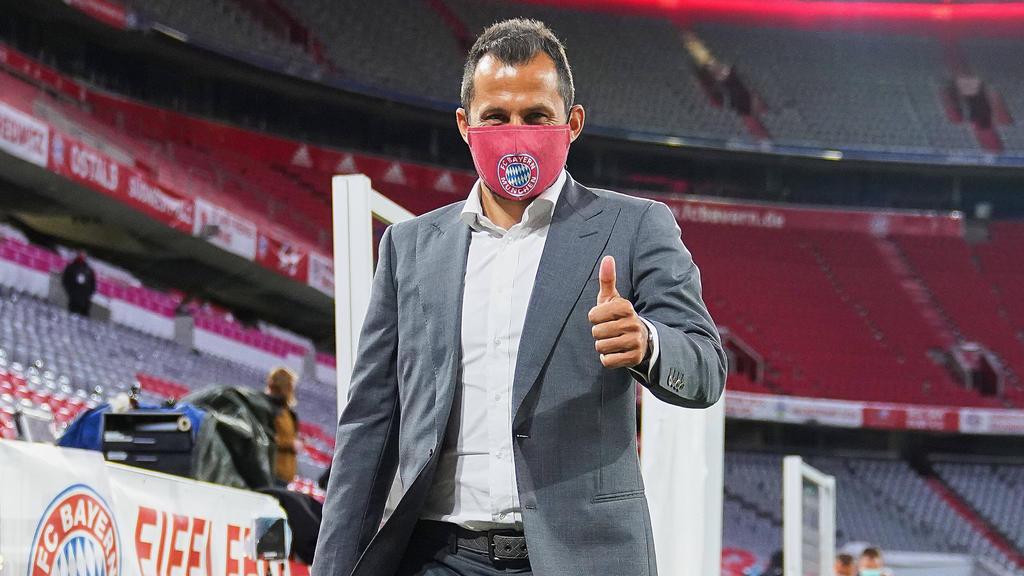 Hasan Salihamidzic schwimmt mit dem FC Bayern auf einer Welle des Erfolgs