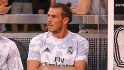 Gareth Bale stellte sich beim Sieg von Real Madrid schlafend