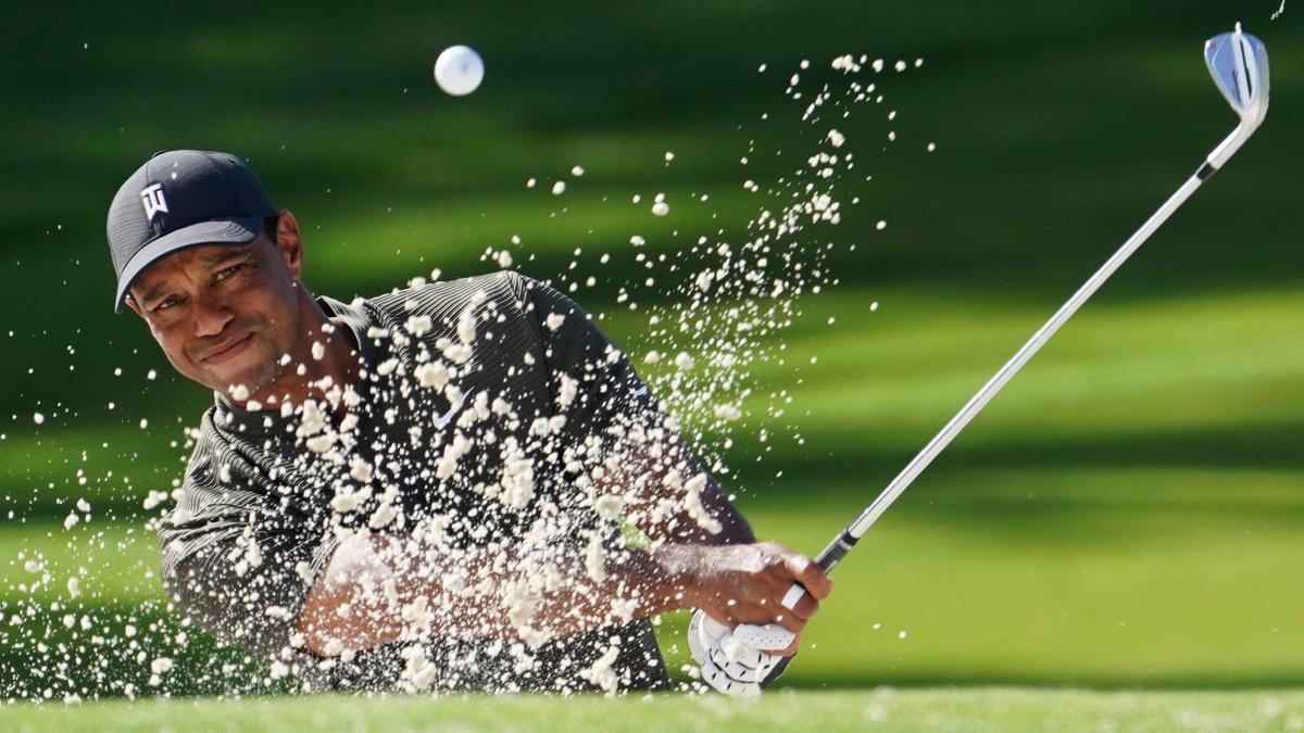 Golf-Legende Tiger Woods liegt beim Masters auf Kurs