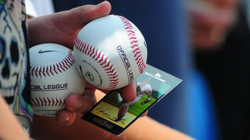Baseball-Sammelkarten gibt es in den USA seit dem späten 19. Jahrhundert