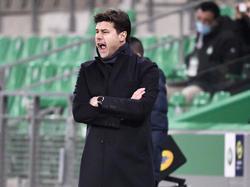 Mauricio Pochettino verpasste den Sieg beim PSG-Debüt