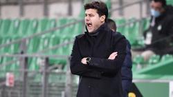 PSG kam beim Debüt von Tuchel-Nachfolger Mauricio Pochettino nicht über ein 1:1 gegen ASSE hinaus