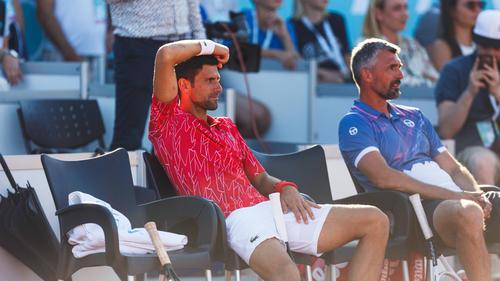 Novak Djokovic (l.) ist häufig das Opfer harter Kritik