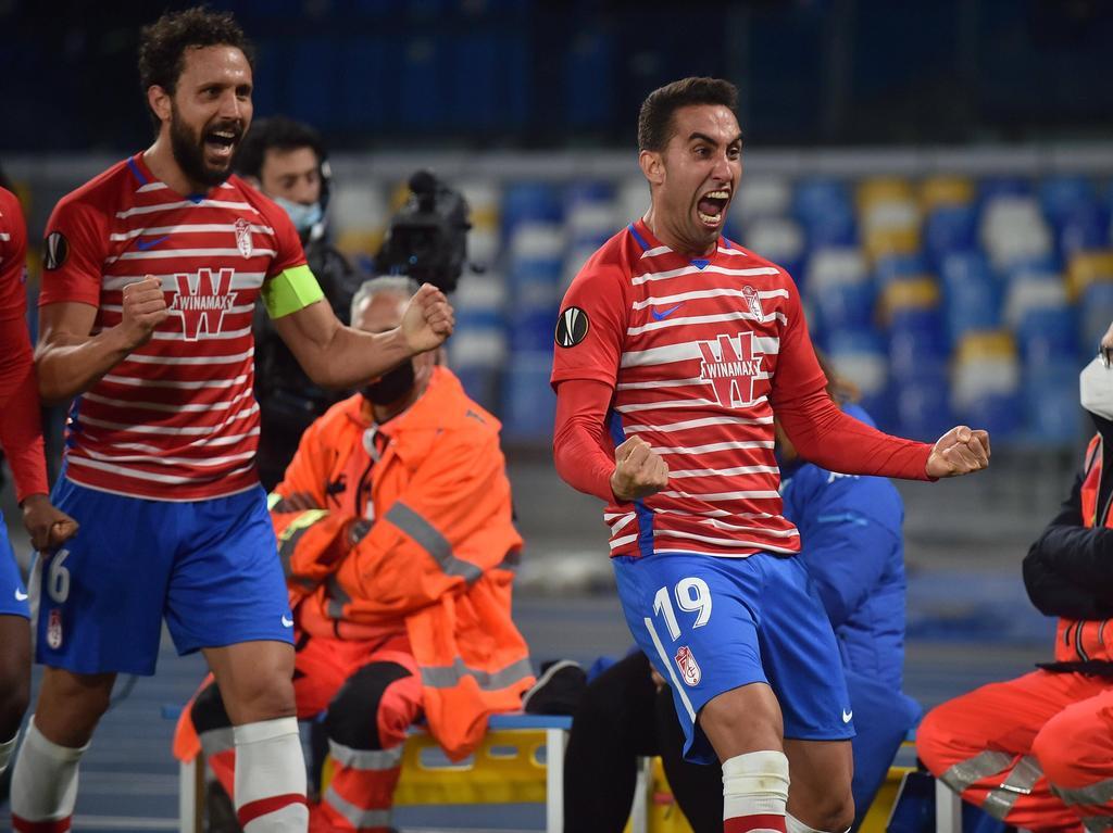Los nazaríes del Granada siguen con el sueño europeo.