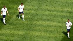 Noch kein Traum-Trio: Karim Benzema, Kylian Mbappé und Antoine Griezmann