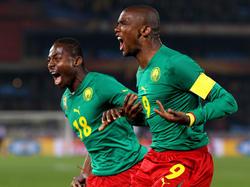 Kurze Freude bei den Kamerunern