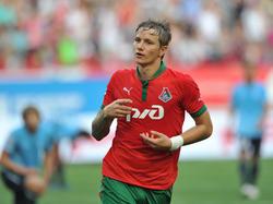 Pavlyuchenko wieder in der Heimat