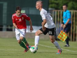 Arsenals Renny Smith hat U18-Teamchef Hermann Stadler beim Test in Ungarn positiv überrascht.
